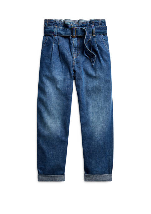 Girls 7-16 Twill Jeans