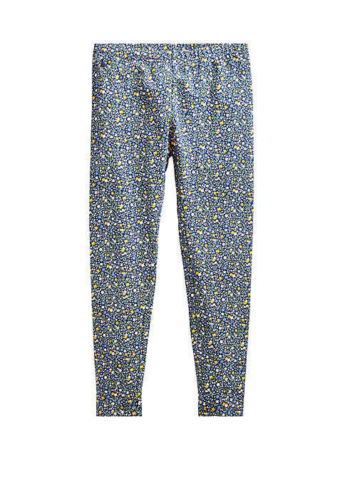 Ralph Lauren Childrenswear Girls 7-16 Floral Stretch Cotton