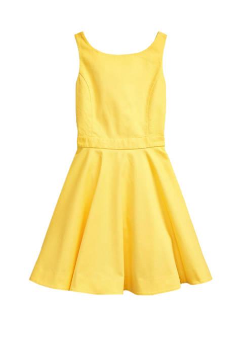 Ralph Lauren Childrenswear Girls 7-16 Crossback Stretch Cotton