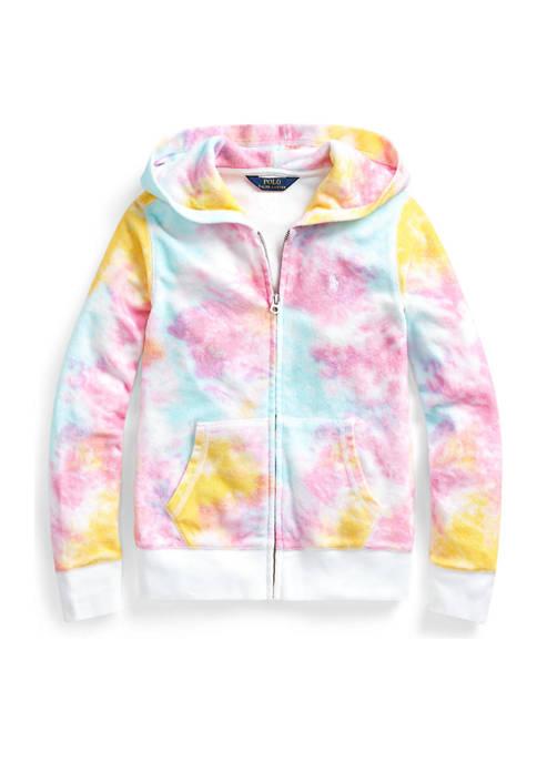 Ralph Lauren Childrenswear Girls 7-16 Tie Dye Terry