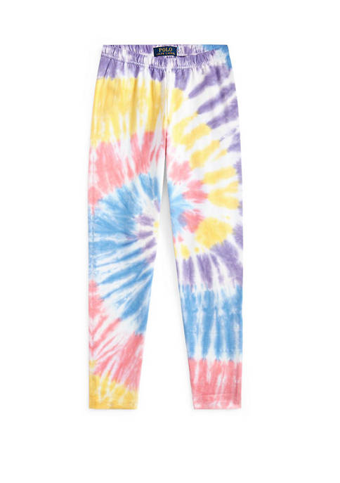 Girls 7-16 Tie Dye Stretch Jersey Leggings