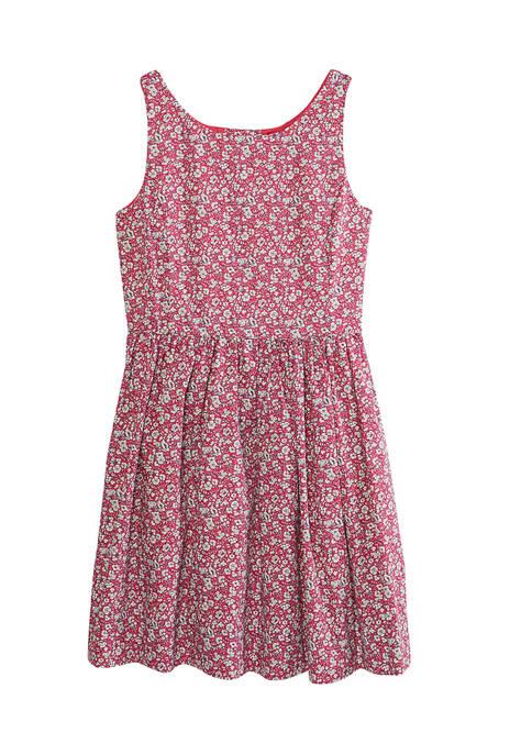 Ralph Lauren Childrenswear Girls 7-16 Printed Floral Poplin