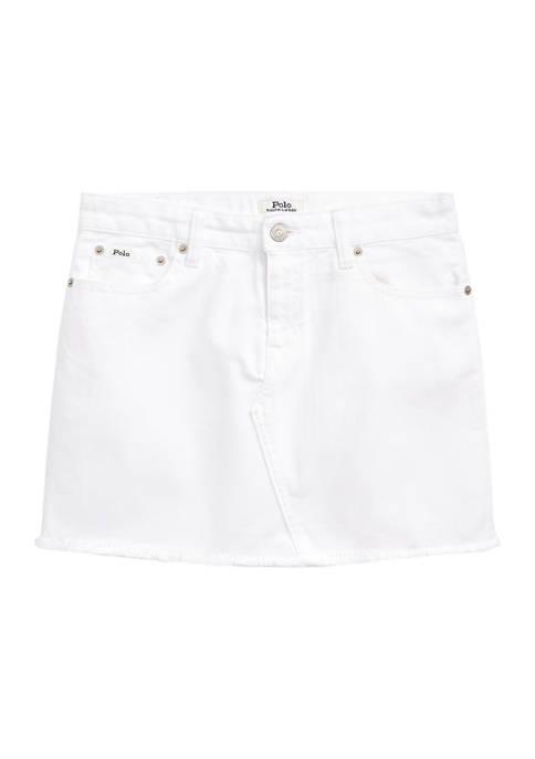 Girls 7-16 Denim 5 Pocket Skirt