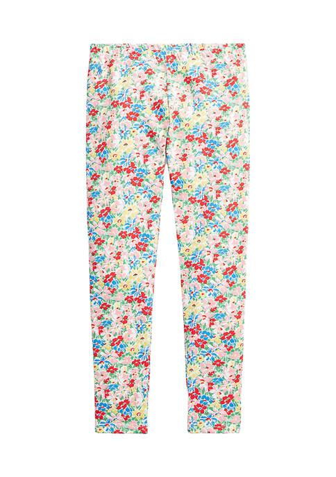 Ralph Lauren Childrenswear Girls 7-16 Floral Stretch Jersey