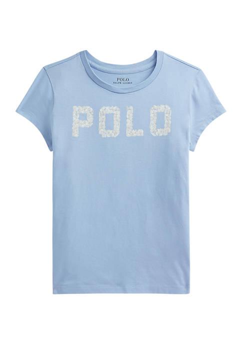 Girls 7-16 Seashell-Logo Cotton Jersey T-Shirt