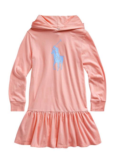 Ralph Lauren Childrenswear Girls 7-16 Big Pony Cotton