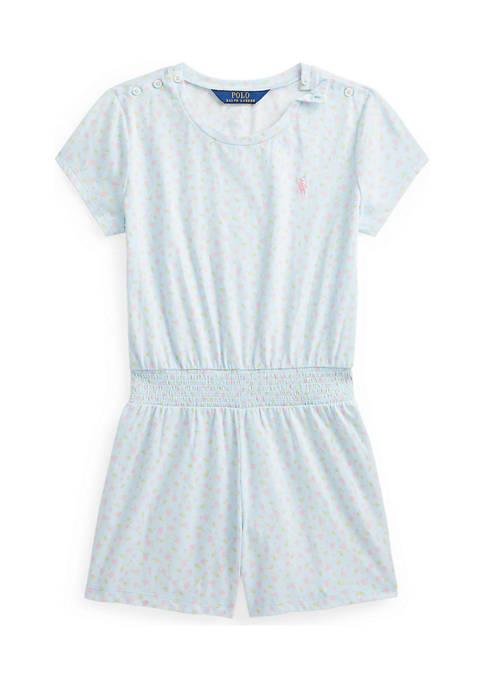 Ralph Lauren Childrenswear Girls 7-16 Floral Cotton Jersey