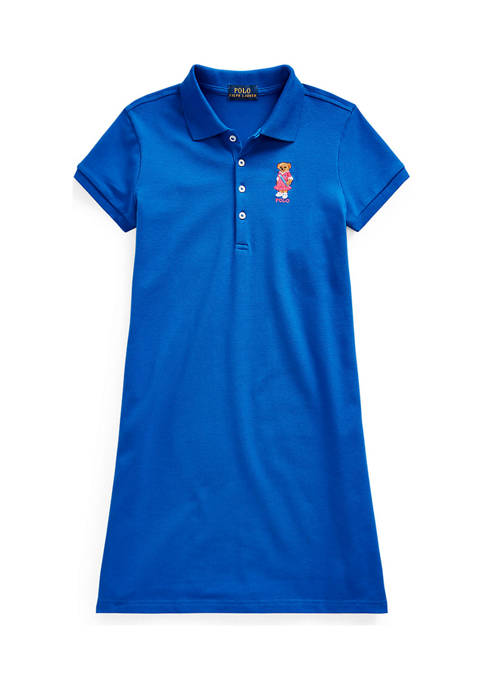 Ralph Lauren Childrenswear Girls 7-16 Polo Bear Stretch