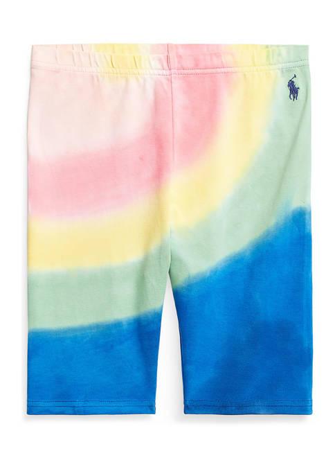 Ralph Lauren Childrenswear Girls 7-16 Tie-Dye Stretch Jersey
