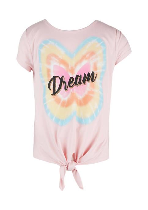 Girls 7-16 Short Sleeve Tie-Dye Dream T-Shirt