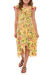 Beautees Girls 7-16 2 Piece Top and Skirt Set