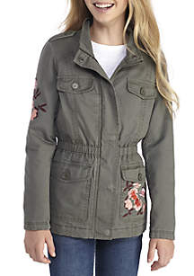 Embroidered Anorak Girls 7-16