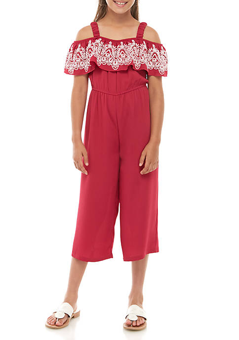 Belle du Jour Girls 7-16 Berry Laser Cut