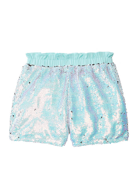 Belle du Jour Girls 7-16 Sequin Pull On