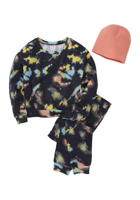 Belle du Jour Girls 7-16 Fleece Top, Pants,
