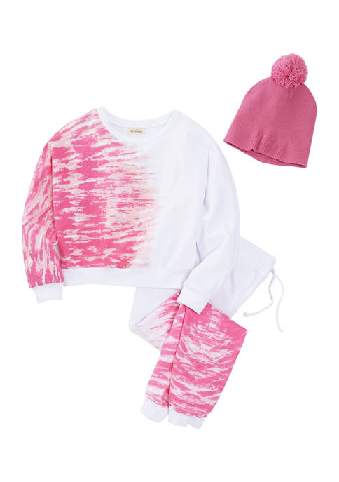 Belle du Jour Girls 7-16 Fleece Shirt, Pants,