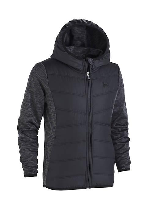 Girls 4-6x Minaret Vista Hooded Hybrid Jacket