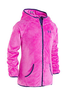Girls 7-16 Cozy Hooded Jacket