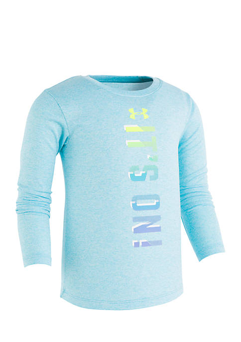 Under Armour® Girls 2-6x Long Sleeve Its On