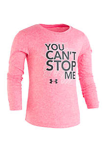 Girls 2-6x You Can't Stop Me Long Sleeve Tee
