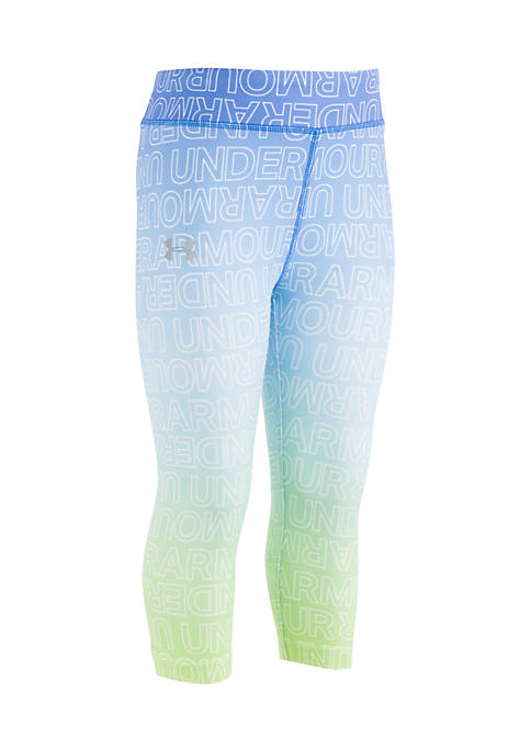 Under Armour® Girls 2-6x Gradient Capri Leggings