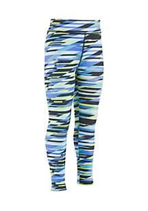 Girls 4-6x Geo Stripe Leggings