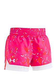Girls 4-6x Shatter Print Shorts