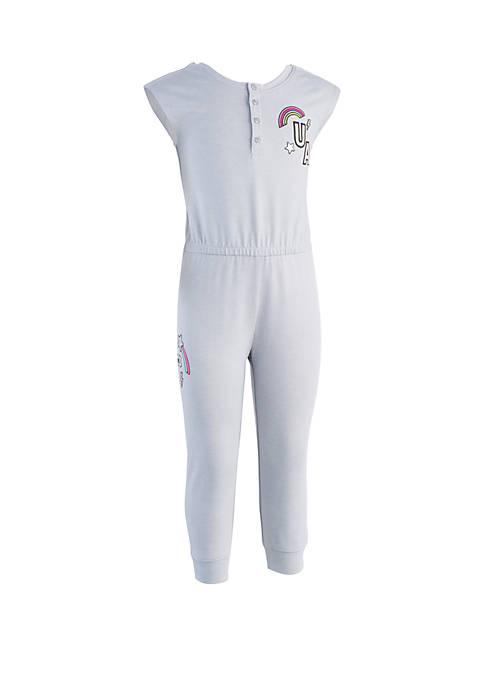 Under Armour® Girls 2-6x Patches Jumpsuit