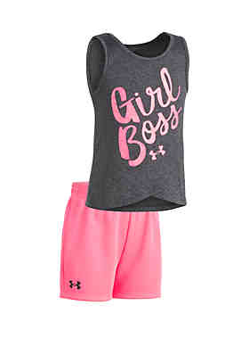 a0263f6dd4c Under Armour® Girls 2-6x UA Girl Boss Tank Set ...