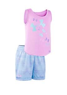 21efb7b2 ... Sleeve Tee · Under Armour® Girls 2-6x UA City Grid Logo Set