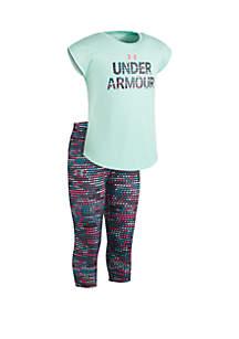 Under Armour® Girls 2-6x Wordmark Set