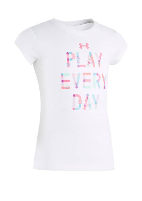 Girls 2-6x Play Everyday Short Sleeve Tee