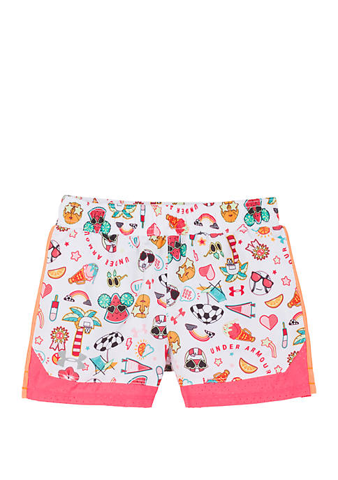 Under Armour® Girls 4-6 Summer Life Sprint Shorts