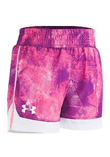 Under Armour® Girls 2-6x Slux Sprint Shorts