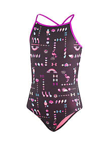 Under Armour® Girls 7-16 UA Best Life One Piece Swimsuit