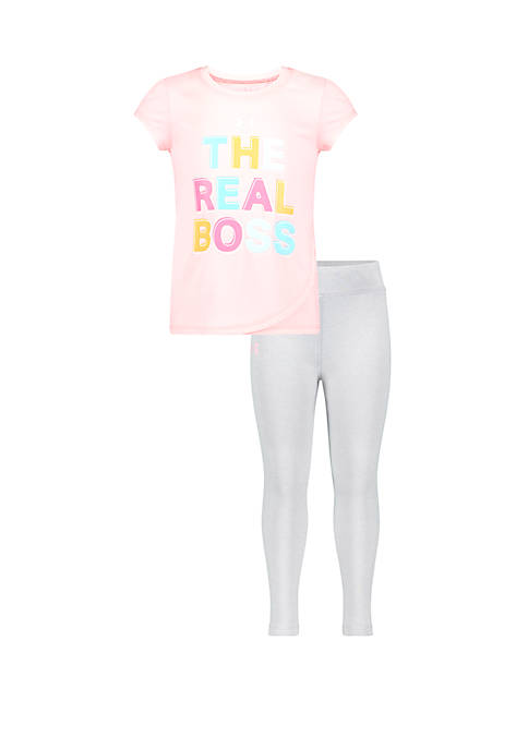 Under Armour® Girls 4-6x The Real Boss 2