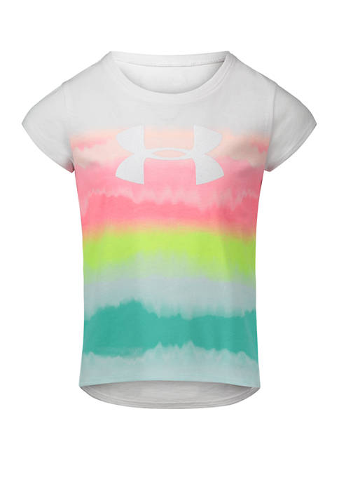 Under Armour® Girls 4-6x Ombre Logo Graphic T-Shirt