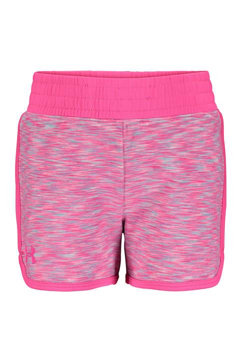 Under Armour® Girls 4-6x Record Breaker Shorts