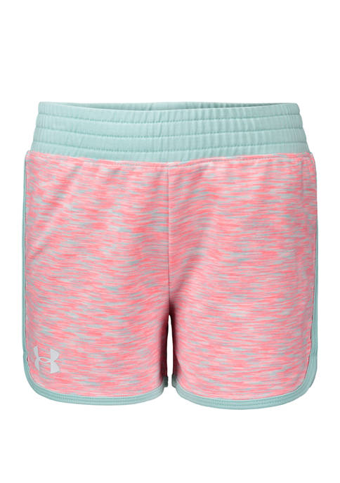 Under Armour® Girls 4-6x Record Breaker Twist Shorts