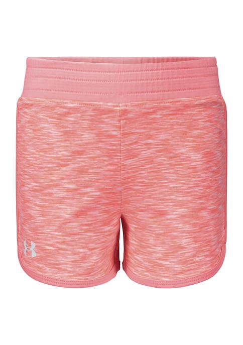 Under Armour® Girls 4-6x Elastic Shorts
