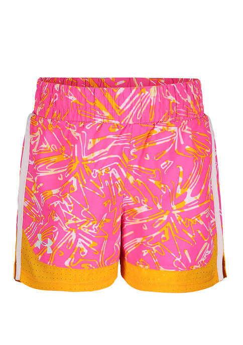 Under Armour® Girls 4-6x Trace Sprint Shorts
