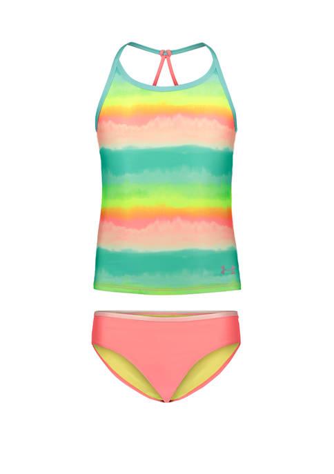 Girls 4-6x Ombre Tankini Swimsuit