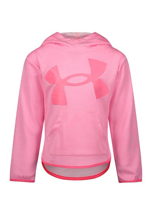 Under Armour® Girls 4-6x Logo Twist Graphic Hoodie
