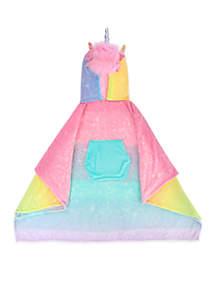 Unicorn Ombre Poncho