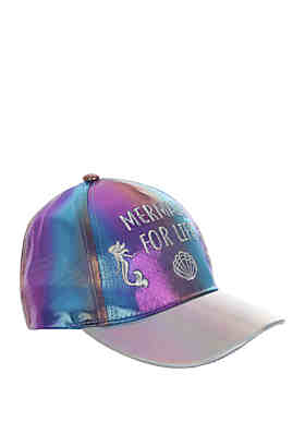 88300b44f33 Capelli New York Girls Mermaid For Life Baseball Hat ...