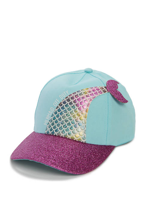 Capelli New York Girls Mermaid Baseball Hat