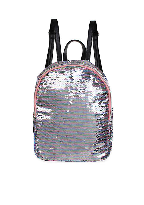 14f8ad26a3 Capelli New York Girls 4-7 Reverse Sequin Mini Backpack