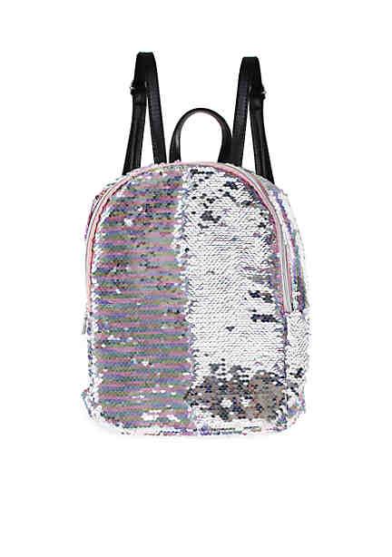 e7edd218bf ... Capelli New York Girls 4-7 Reverse Sequin Mini Backpack