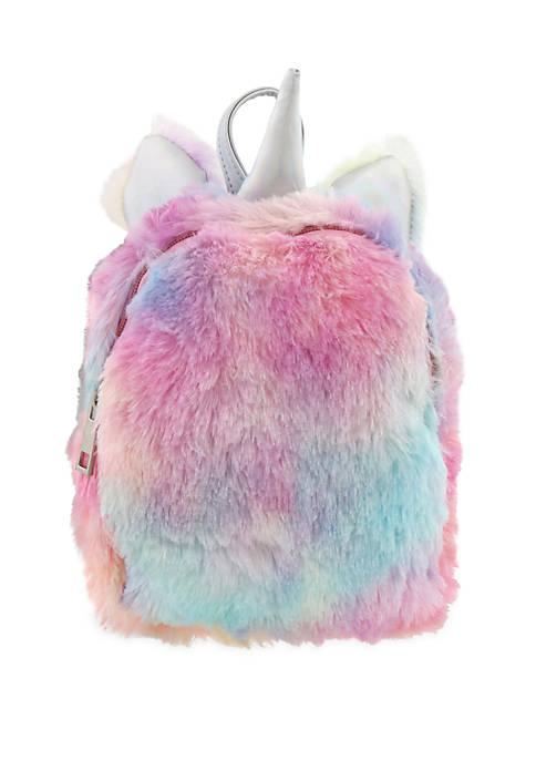 Capelli New York Girls 4-16 Mini Fur Backpack