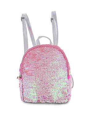 b5796ed58c Capelli New York Girls Reverse Sequin Mini Backpack ...